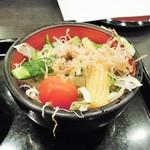 銀座 ハゲ天 - 野菜サラダ