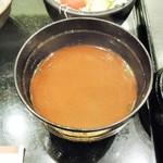 銀座 ハゲ天 - お味噌汁