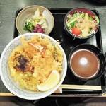銀座 ハゲ天 - 早春天丼セット