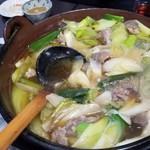きよみ - 鴨鍋