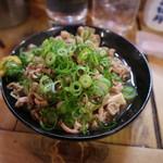 居酒屋 葉牡丹 - スタミナ豆腐です☆ 2018-0214訪問