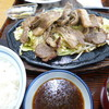 まるみ ドライブイン - 料理写真:生ラム定食