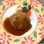 キッチンなかむら - 料理写真:ハンバーグランチ