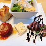 トラットリア デル チェッポ - 料理写真:前菜盛り合わせ