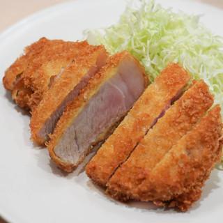 すぎ田 - 料理写真:ロースかつ