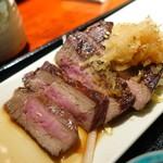 武生 - 牛ランプ炭火焼ランチ1,000円