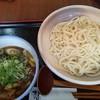 古道 - 料理写真:十津川きのこの肉汁うどん大盛650円+150円