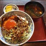 さくら豊月 - 料理写真:味噌カツ丼