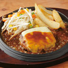 テキサスキングステーキ - 料理写真:チーズハンバーグ