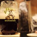 ベルギービール デリリウムカフェ レゼルブ - Laute Bokbier