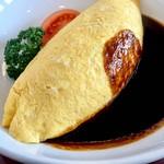 あけぼの - 料理写真:オムライス、デミソース&巻きタイプ