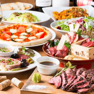 合コンに!女性が喜ぶお肉料理の数々は魅力的!コースで堪能!