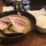 麺家 じゃんぷ亭 - 味噌ラーメンセット 850円