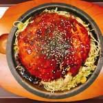 お好み一番地 - 料理写真:広島焼き(麺増量)です。(2018.2 byジプシーくん)