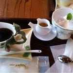 癒しの窓 - 水ゼリー&コーヒー