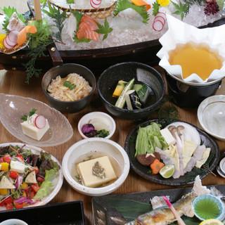 各種ご宴会に◎旬の味覚たっぷりお得コース!