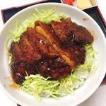こだま食堂 - 料理写真:駒ヶ根風ソースカツ丼