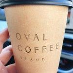 オーバル コーヒースタンド - テイクアウトコーヒー