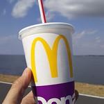 マクドナルド - ドリンク写真:プレミアムローストアイスコーヒーM