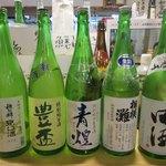 八戸ニューシティーホテル - 日本酒(一部)