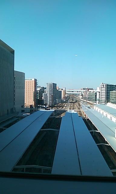 カフェレジャン珈琲舎のだ - 博多駅の景色