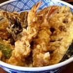 81260089 - 海老と野菜天丼