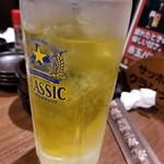 炭火居酒屋 炎 - 緑茶ハイ