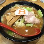 8番らーめん - 小さな野菜らーめん(味噌)500円