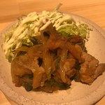 81262958 - 鶏肉の生姜焼き