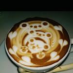 イクジーノ カフェ - 以前の画像『カフェラテアート』
