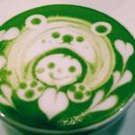 イクジーノ カフェ - 以前行った時の画像『抹茶ラテ』