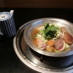 九段下 寿白 - 壬生すき鍋1800円