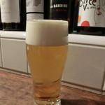 ビストロ アリゴ - 生ビール550円