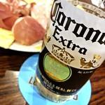 マン イン ザ ムーン - コロナビール(750円)
