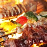 別邸個室・炭焼きビストロ ビスタ - 炭焼・ブロシェットグリル、地養鶏と野菜のア・ラプランチャ