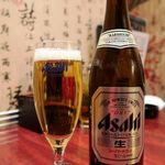 良記 餃子酒場 - 飲みホの瓶ビールはポイント高い!!