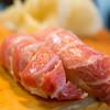 Kawanamizushi - 料理写真:2018.2 大トロ寿し(8貫 2,100円)ヅケ