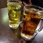 四文屋 - ウーロン茶