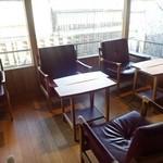 洋菓子 ぎをん さかい - 2階のカフェ