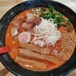 麺極 はなみち - 激辛味噌(レベル3)