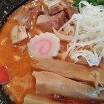 麺極 はなみち - 激辛味噌(レベル3・アップ)