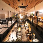 nine CAFE - 内観写真: