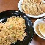 餃子の王将 - 18/2 餃子+極王炒飯