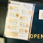自由が丘バーガー - レギュラーメニューになっているのはこちらのバーガー。好みの具材で自分好みのハンバーガーを作ることもできちゃうみたいです。