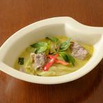 クルア・ナムプリック - 料理写真:ヌムさんのグリーンカレー(牛肉)