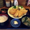 Mikaku - 料理写真:アジフライ定食 680円