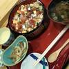 すし心明 - 料理写真:ちらし鮨セット(税込)1000円