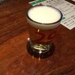 81279282 - 肉山 おおみや 一口ビール200円