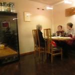 ビストロスクワール - テーブル席