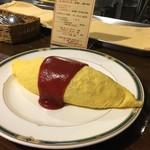 麻布食堂 - オムライスケチャップ980円